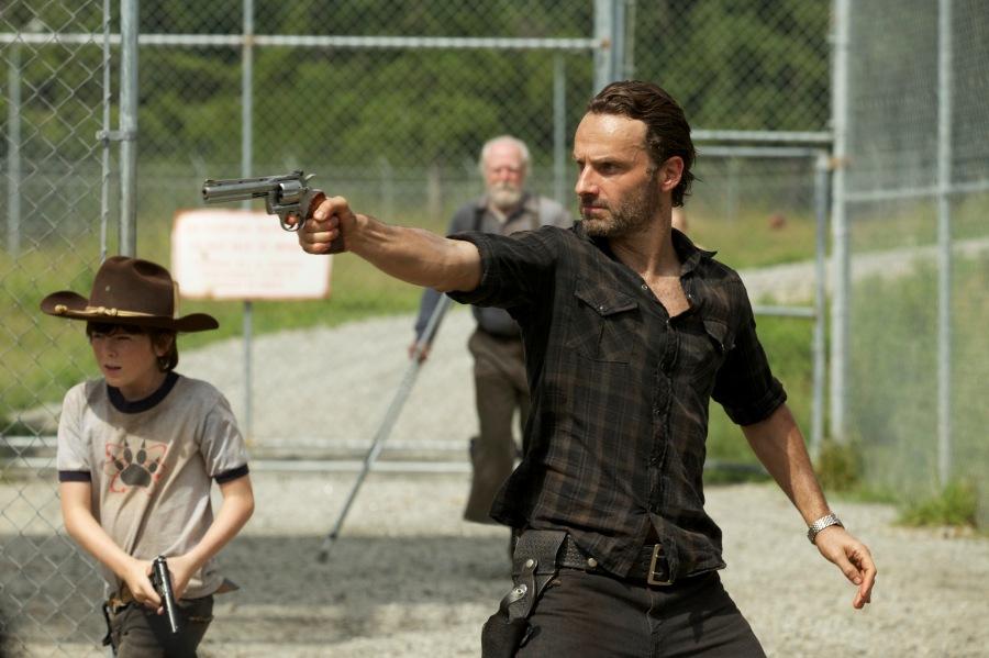 """The Walking Dead"" resumes explosive third season on Fox this February 16."