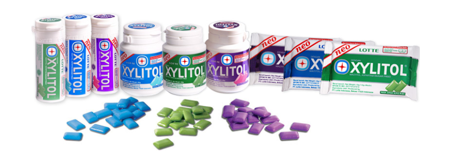 Xylitol Mini Bottle, Handy Bottle, Blister Pack.