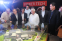 Meralco Chairman Manny V. Pangilinan (2nd from left) and Meralco President & CEO Oscar S. Reyes (3rd from right) lead partners to look at the scale model of PowerTech—the Philippine's first innovation, R&D, and technical training facility featuring the grid of the future. It will be an incubator for agile and globally competent energy talents capable of supporting advancements in the power and energy ecosystem.
