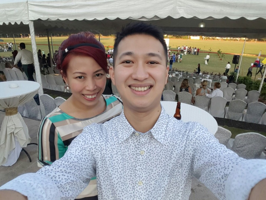 Dockers Philppines Marketing Head Ms. Kaths Laudit and Paul Bryan Chong