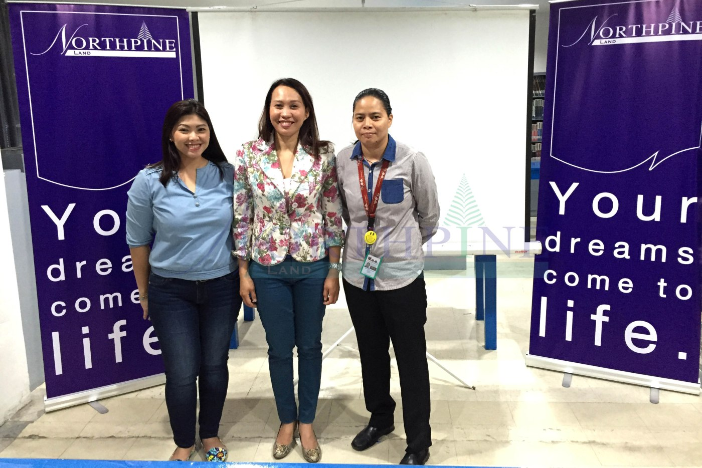 Photo above shows (L-R): Myla Miranda-Cammayo (Sr. Mngr 2 for Marketing and Corporate Communications), Amytis Banaag (AVP for HRODA, Sales Training and Corporate Sales), and Ms. Romalie Ocampo (AMA San Fernando Instructor and Practicum Adviser)