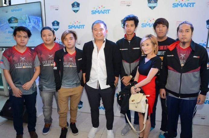ESL One Manila Digital5 Head Chot Reyes with Team Mineski