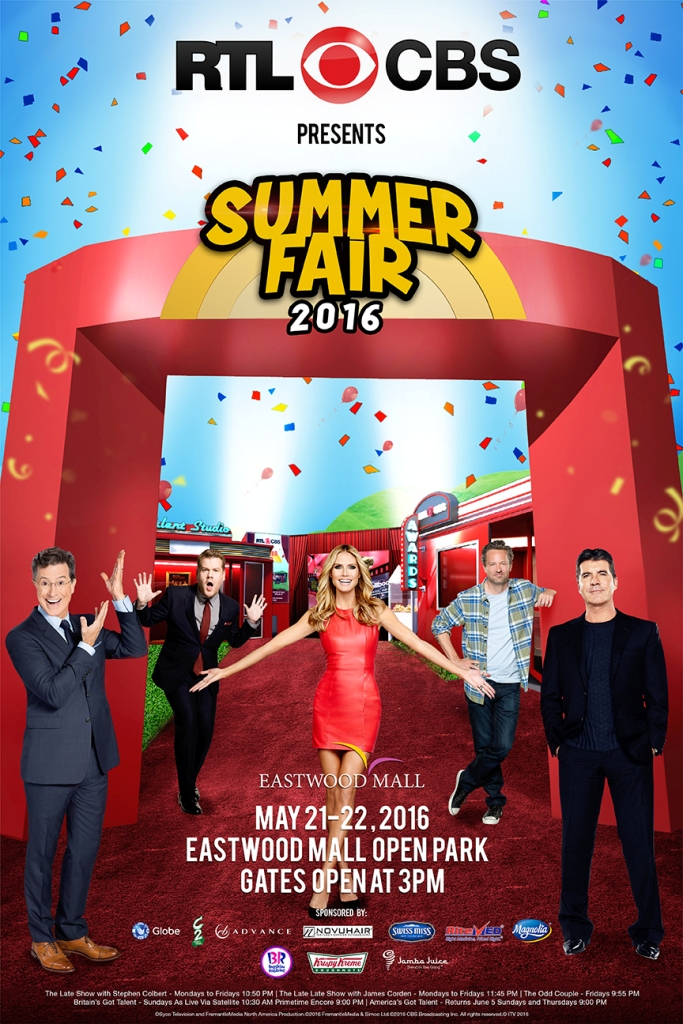 RTL CBS SUMMER FAIR POSTER