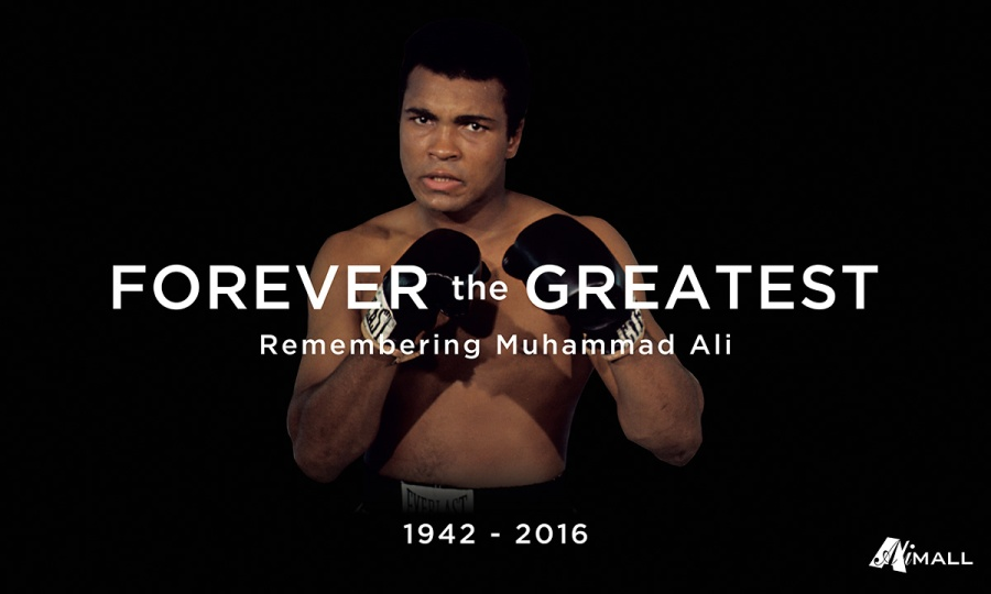 Ali Mall recently commemorated the passing of Muhammad Ali with an exhibit of rare photos and memorabilia billed 'Forever the Greatest: Remembering Muhammad Ali'