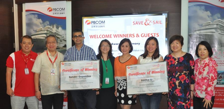 PBCOM Save & Sail Staycation Winners