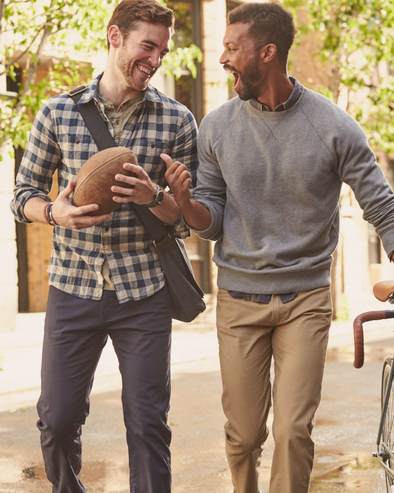 Every man can create more authentic friendships and cherished moments while clad in their preferred style, as Dockers launches a new classification system designed to suggest a specific type of jean for every need. These are the four pillars—The Jean Cut, The Broken-In, The Clean Khaki and The Best Pressed.