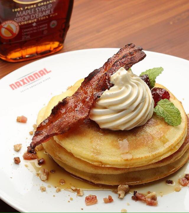 BREAKFAST Buenos Dias Pancakes