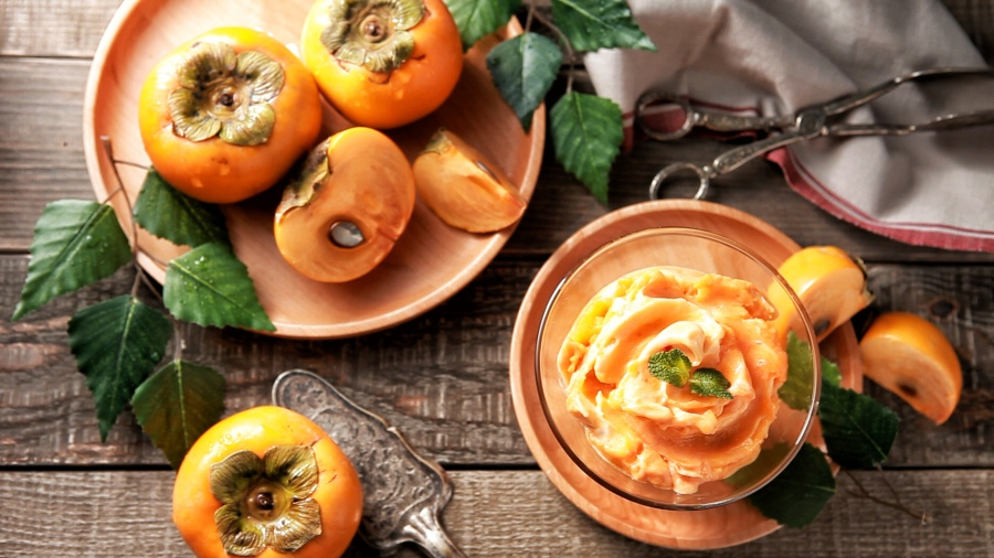PERSIMMON SHERBET RECIPE