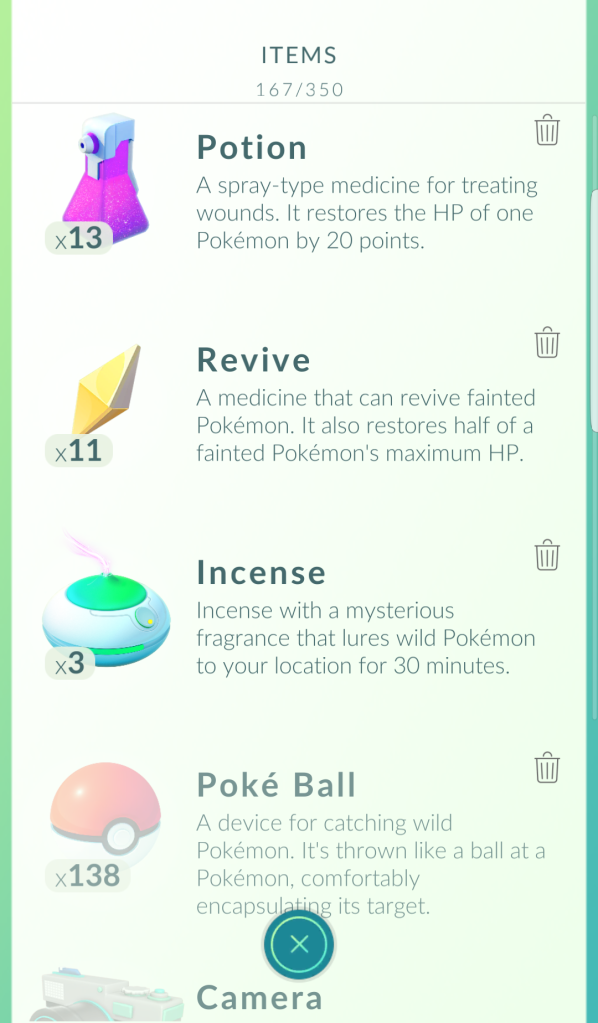 Pokeballs are not unlimited