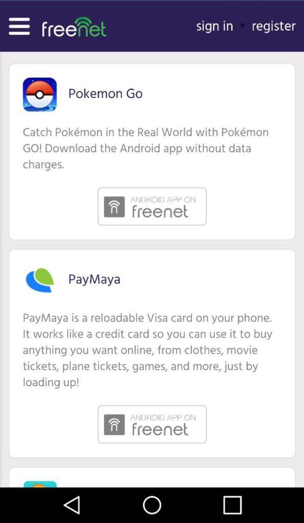 PokemonGO - freenet