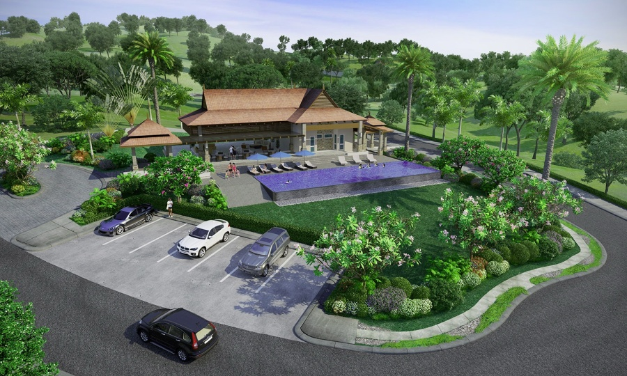 Vireya features recreational amenities unique to each block. The Resort Zone highlights the Pavana, a pavilion with infinity pool, perfect for family bonding. (Photo shows the artist's perspective of the Pavana)
