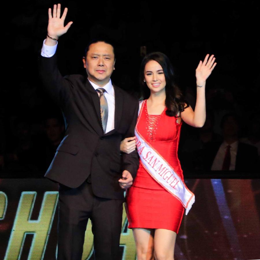 GINEBRA Calendar Girl Kim Dmingo shines in PBA opening weekend