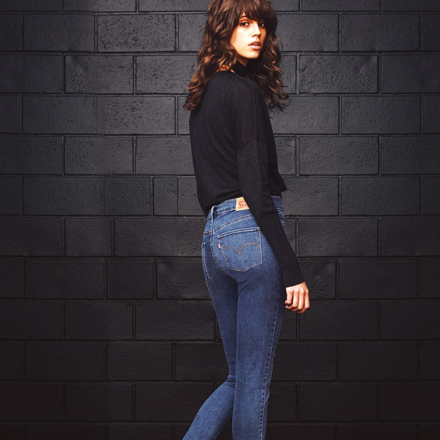 Lot 300 jeans—and the rest of Levi's women's collection—are built around advanced fabric stretch technology.