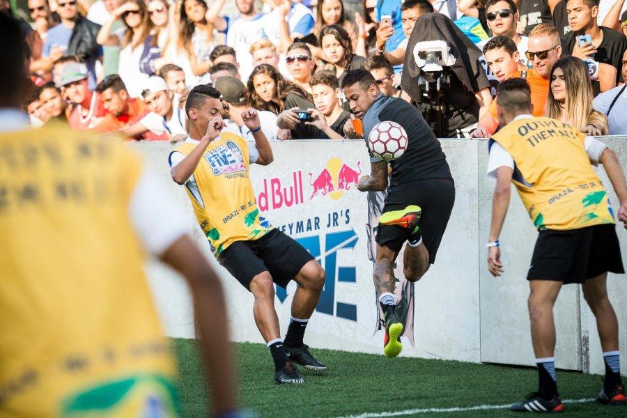 neymar-jr-makes-a-challenge-against-the-win-ing-brazil-team-at-his-own-neymar-jr-s-five-soccer-tournament