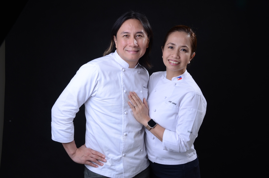 Well-known celebrity chefs Rolando and Jackie Laudico will prepare a delicious five-course set menu featuring a different kind of gastronomic experience on Valentine's night at Palazzo Verde.